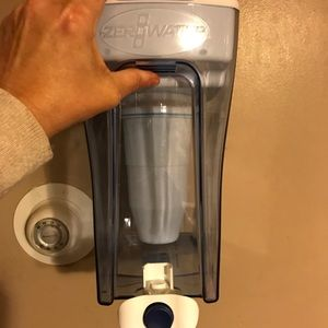Zero water dispenser